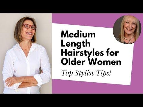 Exploring the Best Medium Length Hairstyles for Older Women | Denise McAdam