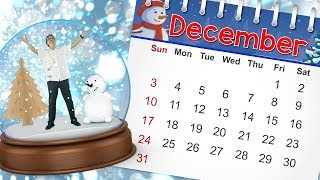 December | Calendar Song for Kids | Month of the Year Song | Holidays | Jack Hartmann