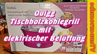 Aldi Elektrischer Holzkohlegrill : Der aldi quigg holzkohletischgrill modell gt ctg 01 unbo