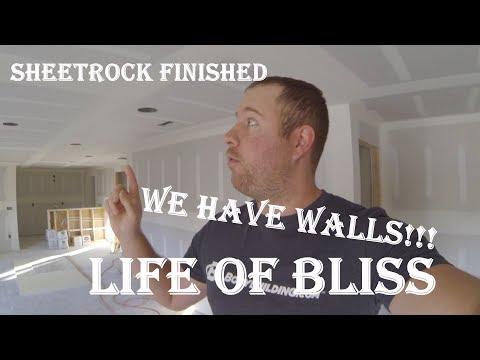 Basement Build 10 | Finished Sheetrock | Hanging Doors