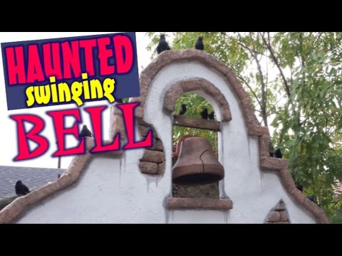 Easy Motorized Halloween Prop - Old Haunted Mission Bell