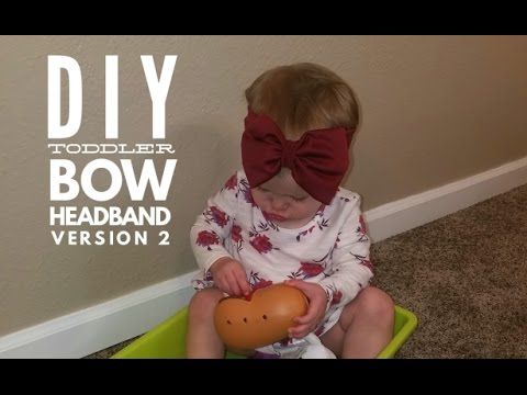 Toddler Bow Headband Version2