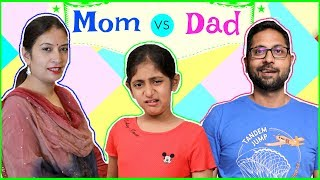 MOM vs DAD in School Life Part 2...  #Fun #Sketch #Roleplay #Kids #MyMissAnand