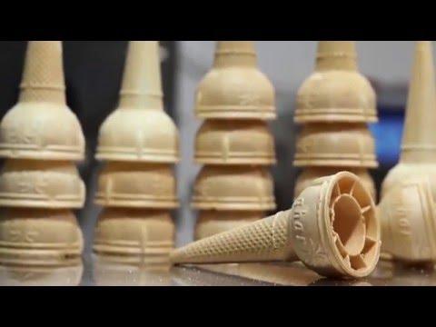 Hows it made Gharissa Ice cream Cones