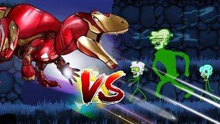 Download Dinosaurs Battle | SUPER HERO Dinosaurs VS Zombie Video