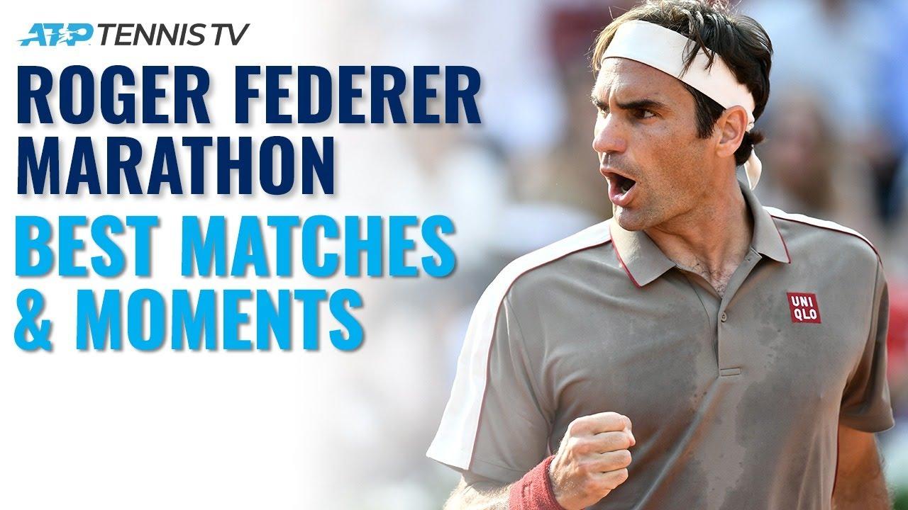 ROGER FEDERER MARATHON: His Best ATP Tour Moments!