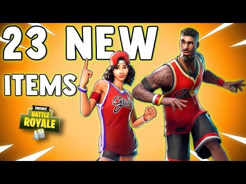 23 NEW ITEMS COMING TO FORTNITE (New Skins, New Emotes, New Gliders & MORE) Blitz v2 Gameplay