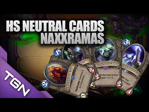 Hearthstone Neutral Cards: Dancing Sword, Nerubian Egg, Undertaker, Shade of Naxxramis