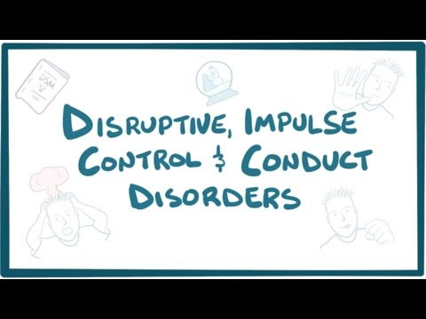 Disruptive, impulse control, and conduct disorders