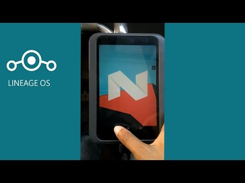 How to install Lineage OS 14.1 on Nook HD