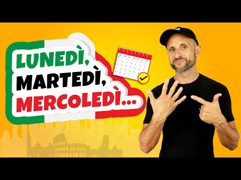 Learn Italian for Beginners: Days of the Week in Italian - Vocabulary and How to Use it