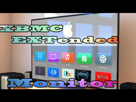 XBMC Extended Monitor Airplay Setup