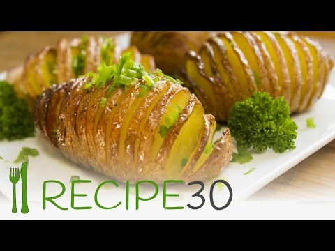 HASSELBACK POTATOES  the baked potato recipe - Recipe30