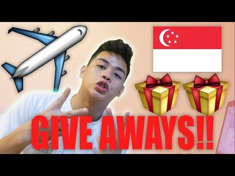 LOVE MONTH GIVE AWAYS **trip to singapore**