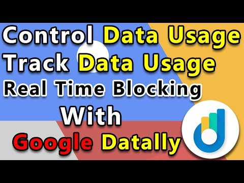 Google Datally | Best Internet Data Saver Android App | Data Tracking, Data Blocking | In Hindi |