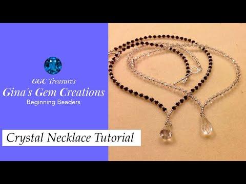 Crystal Necklace Tutorial