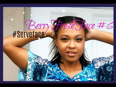 BerryFreshFace Model #6 Time Lapse Video Bday Makeup