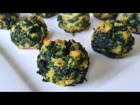 LIL BALLS - Spinach Balls Recipe - Easy Appetizer