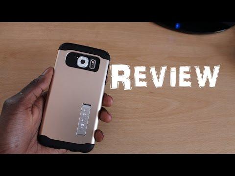 Spigen Slim Armor Case For Samsung Galaxy S6 (Champagne Gold)