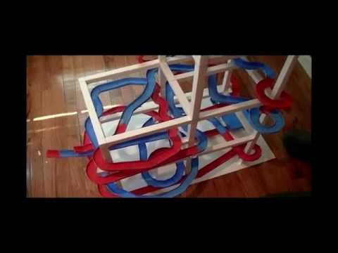 Paper Roller Coaster : The POSTER COASTER