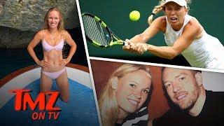 Caroline Wozniacki Hits Bday Bikini Pose After Wimbledon Loss   TMZ TV