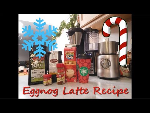 How To Make an Eggnog Latte with the Ninja Coffee Bar | Project Rebirth