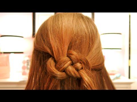 Hair Tutorial: How to do a Celtic Knot
