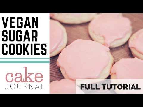 The Best VEGAN Sugar Cookies Recipe