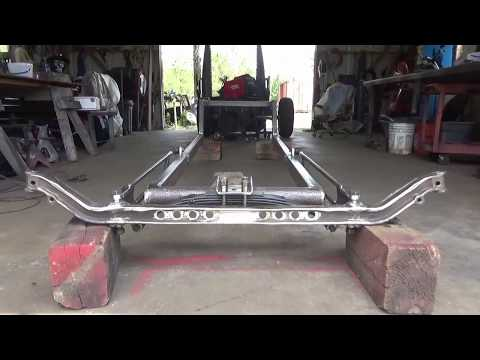 31 Chevy Rat Rod Build - Front Suspension Modifications Done