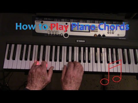 How to Play Piano Chords Easiest Way to Play Piano