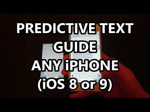 iPhone 6S Turn On Predictive Text if Bar Missing How to Guide Any iPhone iOS 9 +