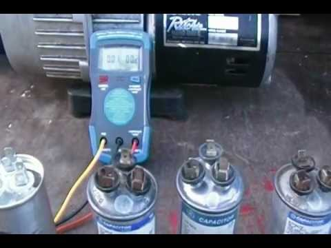How to fix A/C (Air Conditioner) Bad Capacitor No Air Conditioning repair air conditioner