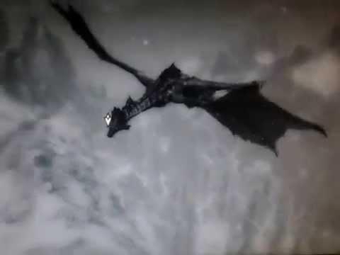 Skyrim Dragon-Riding