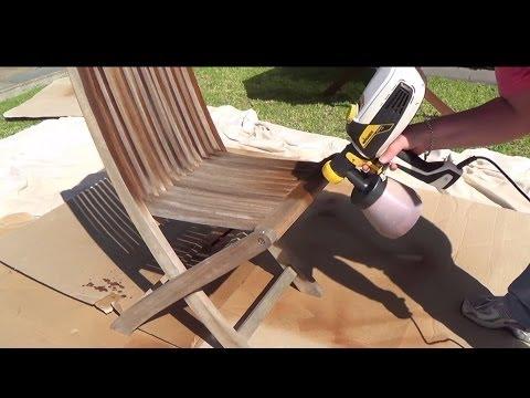 Wagner FLEXiO 585 - Spraying Outdoor Furniture