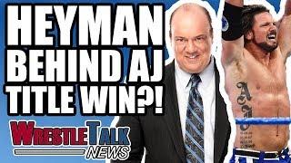 Roman Reigns Cleared For WWE RETURN! AJ Styles WWE Title Win! | WrestleTalk News Nov. 2017
