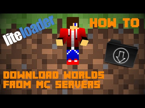 How To Download Worlds From Minecraft Servers! (PC + Mac Compatible)