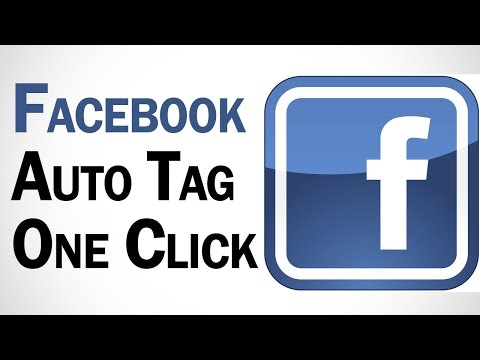 Auto Tag All Friends On Facebook In One Click | Facebook Tutorials