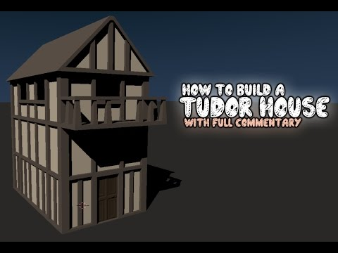 How to build a Tudor house | With Commentary (unedited)