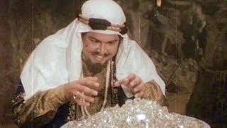 Qasim Discovers Enormous Wealth - Superhit Scene - Alibaba Marjinaa - Viju Khote