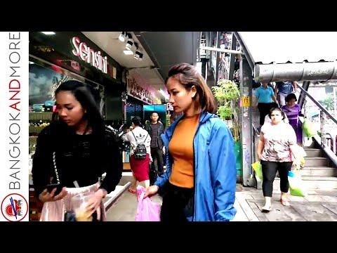 Pratunam Bangkok 2018 Walk Around - A Day In Bangkok