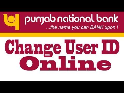 Change Customer ID Of  PNB Net Banking Online