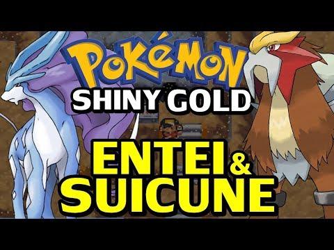 Pokémon Shiny Gold Sigma (Detonado - Parte 62) - Lendários Entei e Suicune!