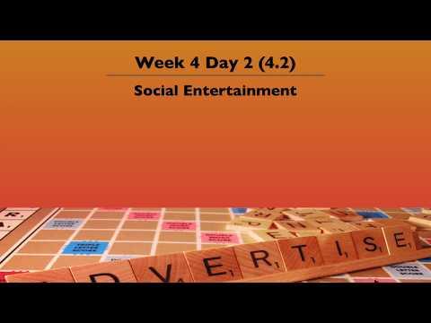 4.2 Social Entertainment