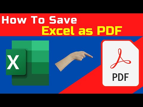 HOW TO CONVERT XLS TO PDF FILE