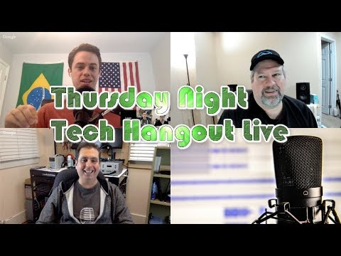 Thursday Night Tech Hangout With Chris Voss and Andy Isom