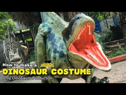 How to make a realistic dinosaur costume - 5 steps