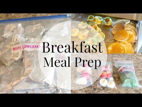 Meal Prep Freezer Meals- Breakfast!