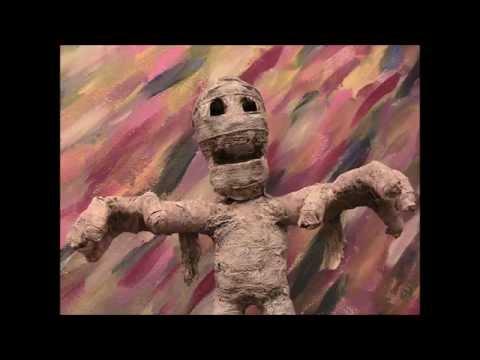 paper mache mummy