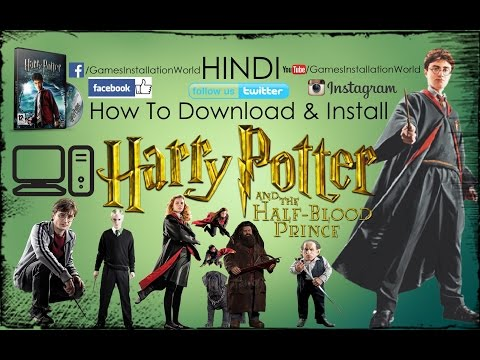 How To Download & Install Harry Potter And The Half Blood Prince