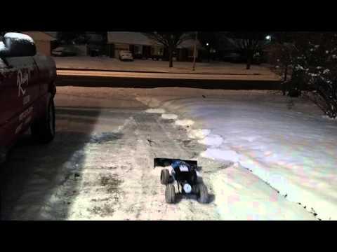 Rc car snow plow